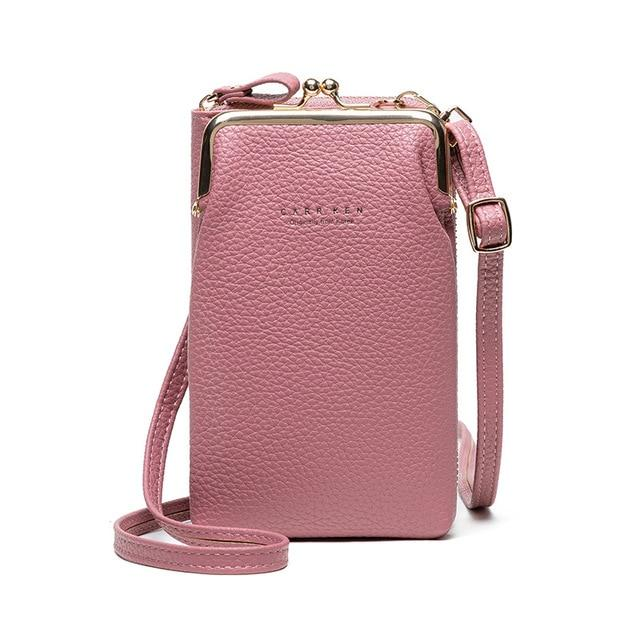 OMNIDEN Pink Diane Phone Bag