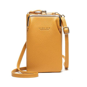 OMNIDEN Yellow Diane Phone Bag