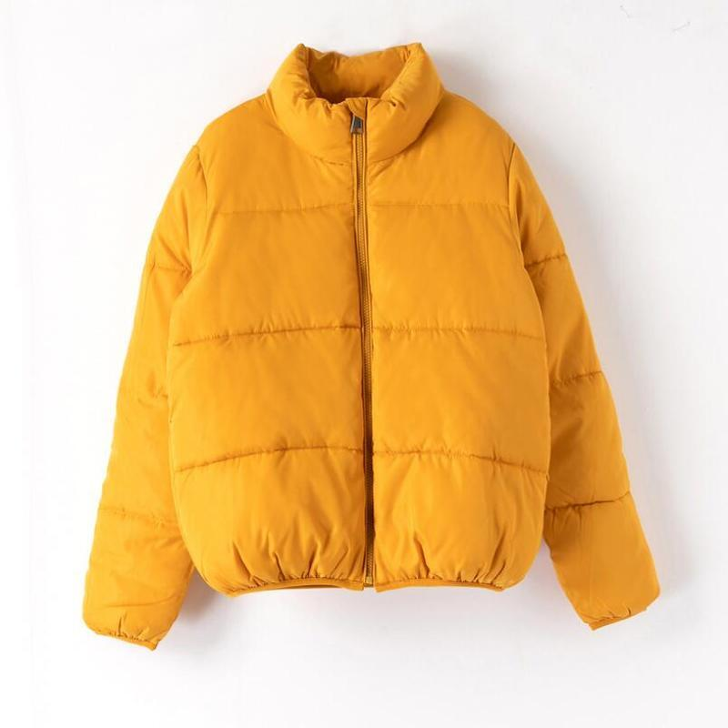 OMNIDEN Yellow / L Nora Puffer Jacket