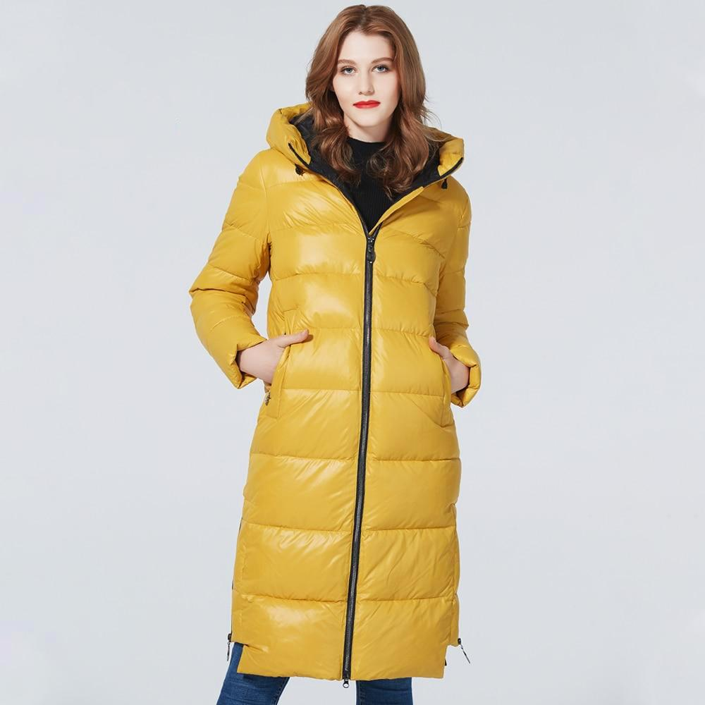 OMNIDEN Yellow / S Galina Puffer Coat