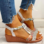 Load image into Gallery viewer, OMNIDEN Selena Platform Sandal