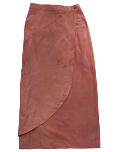 "Caracol skirt with natural dyes ""Maria Ospina"""