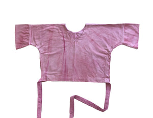 "Carmen blouse with natural dyes ""María Ospina"""