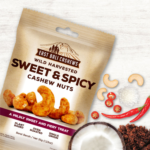 EBC - Sweet & Spicy Cashew Nuts