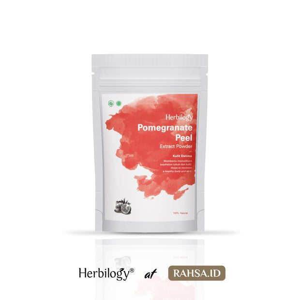 Herbilogy -  Pomegranate Peel / Kulit Delima Extract Powder