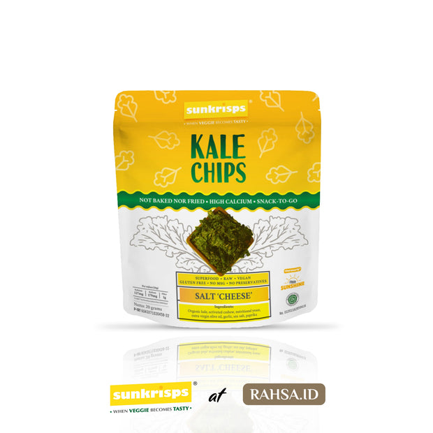Sunkrisps - Kale Chips Salt Cheese
