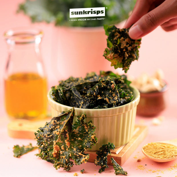Sunkrisps - Kale Chips Spicy Tangy