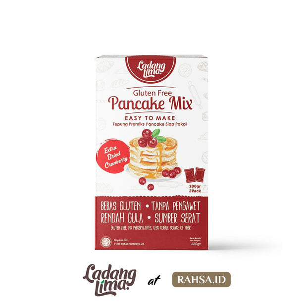 Ladang Lima - Pancake Mix (Gluten Free with Extra Dried Cranberry)