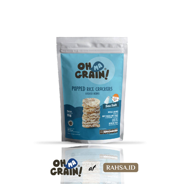 OMG - Popped Rice Crackers Sea Salt