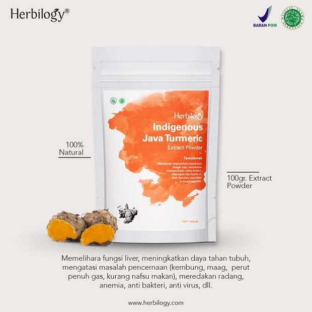 Herbilogy - Java Turmeric / Temulawak Extract Powder