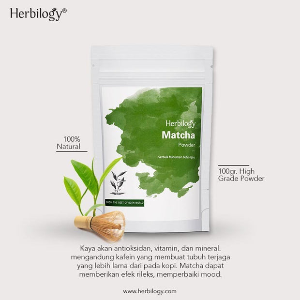 Herbilogy - Matcha Extract Powder