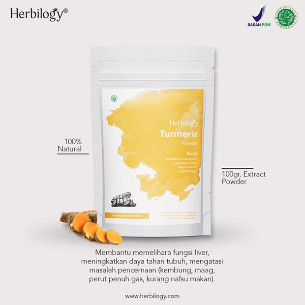 Herbilogy - Turmeric / Kunyit Extract Powder
