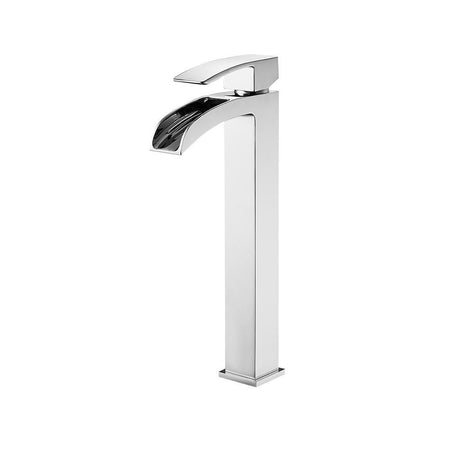 Belair Single Lever Vessel Bathroom Faucet Vinnova Faucets Polished Chrome