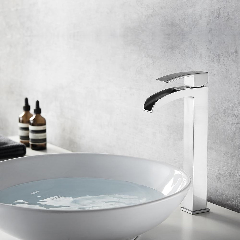 Belair Single Lever Vessel Bathroom Faucet Vinnova Faucets