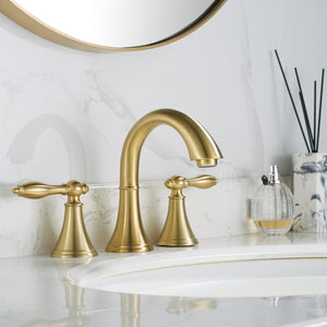 Florence Two-Handle 8-Inch Widespread Bathroom Faucet Vinnova Faucets
