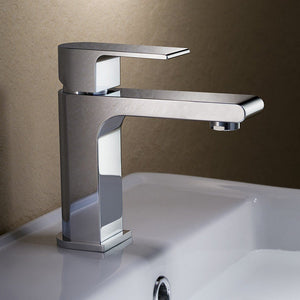 Fresca Allaro Single Hole Mount Bathroom Vanity Faucet Fresca Faucets