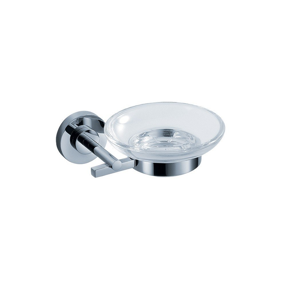 Fresca Alzato Soap Dish Fresca Soap Dishes Chrome