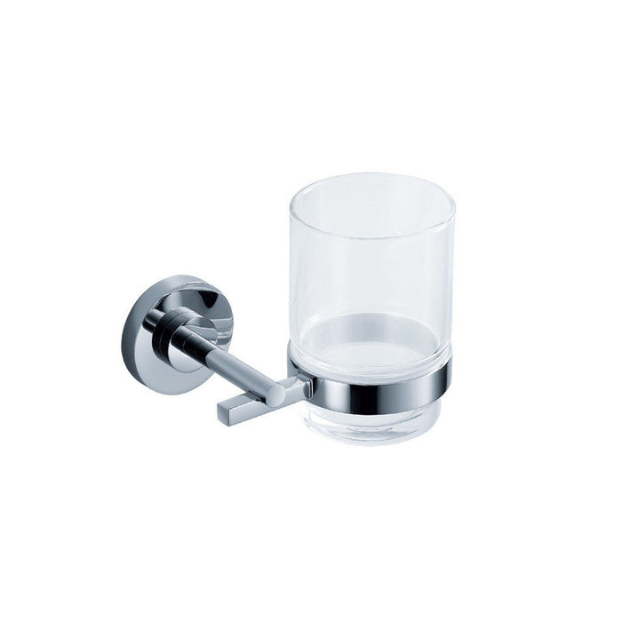 Fresca Alzato Tumbler and Tumbler Holder Fresca Tumblers Chrome