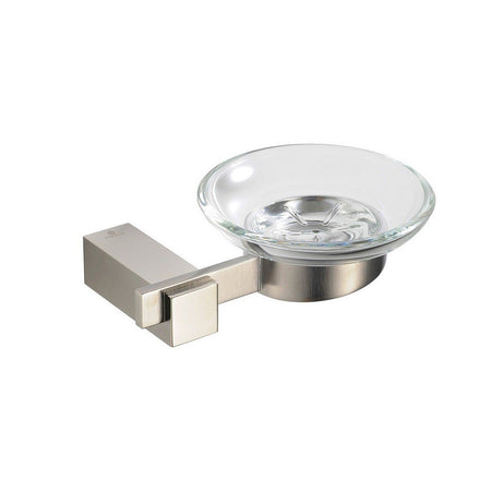 Fresca Ellite Soap Dish Fresca Soap Dishes Brushed Nickel