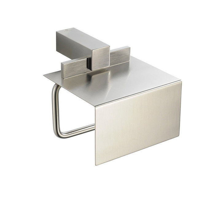 Fresca Ellite Toilet Paper Holder Fresca Toilet Paper Holders Brushed Nickel