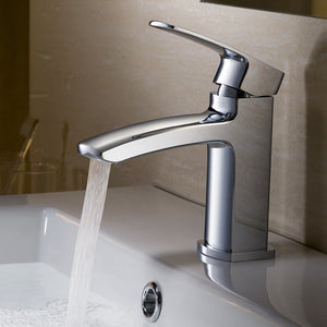 Fresca Fiora Single Hole Mount Bathroom Vanity Faucet Fresca Faucets