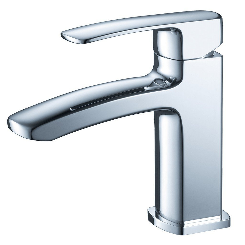 Fresca Fiora Single Hole Mount Bathroom Vanity Faucet Fresca Faucets Chrome