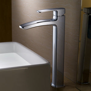 Fresca Fiora Single Hole Vessel Mount Bathroom Vanity Faucet Fresca Faucets