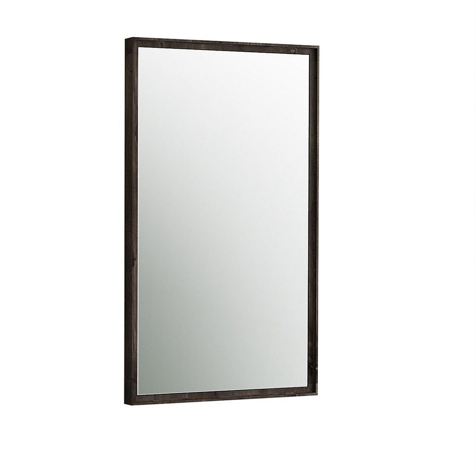 "Fresca Formosa 20"" Bathroom Mirror Fresca Mirrors Acacia Wood"