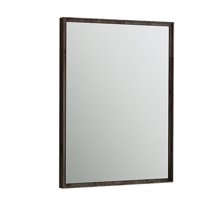 "Fresca Formosa 26"" Bathroom Mirror Fresca Mirrors Acacia Wood"