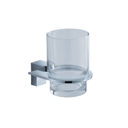 Fresca Generoso Tumbler and Tumbler Holder Fresca Tumblers Chrome