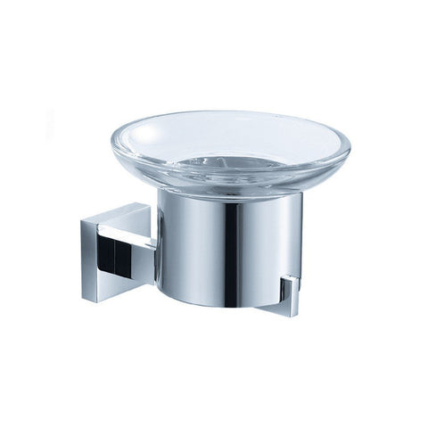 Fresca Glorioso Soap Dish (Wall Mount) Fresca Soap Dishes Chrome