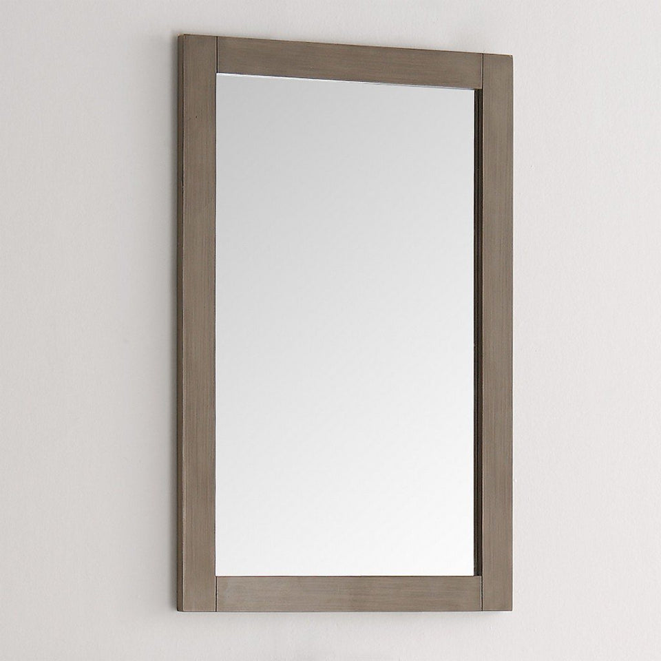 "Fresca Greenwich 20"" Traditional Bathroom Mirror Fresca Mirrors"