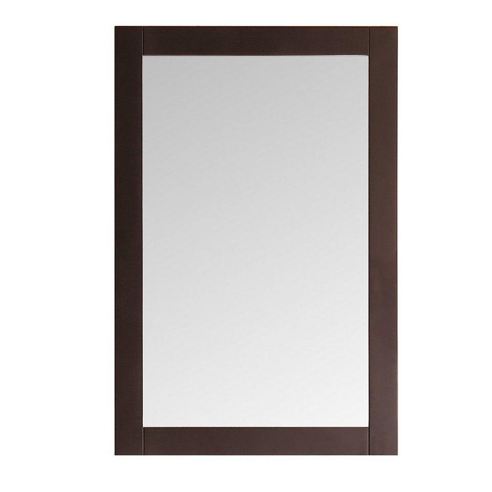 "Fresca Greenwich 20"" Traditional Bathroom Mirror Fresca Mirrors Antique Coffee"