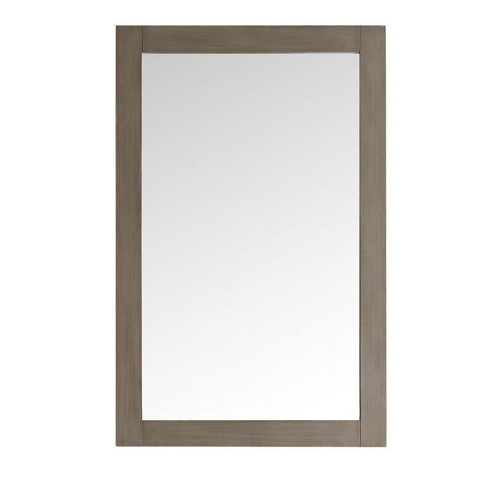 "Fresca Greenwich 20"" Traditional Bathroom Mirror Fresca Mirrors Antique Silver"