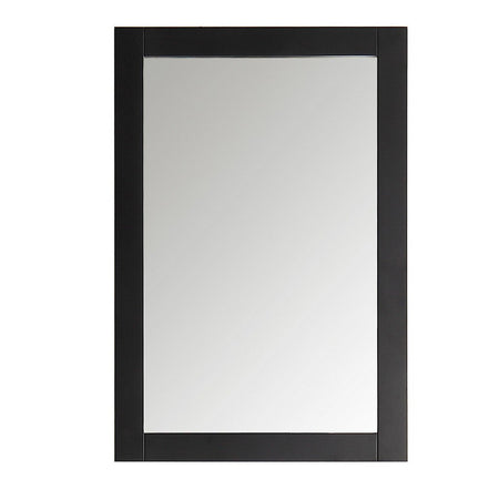 "Fresca Hartford 20"" Traditional Bathroom Mirror Fresca Mirrors Black"