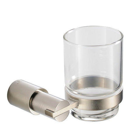 Fresca Magnifico Tumbler and Tumbler Holder Fresca Tumblers Brushed Nickel