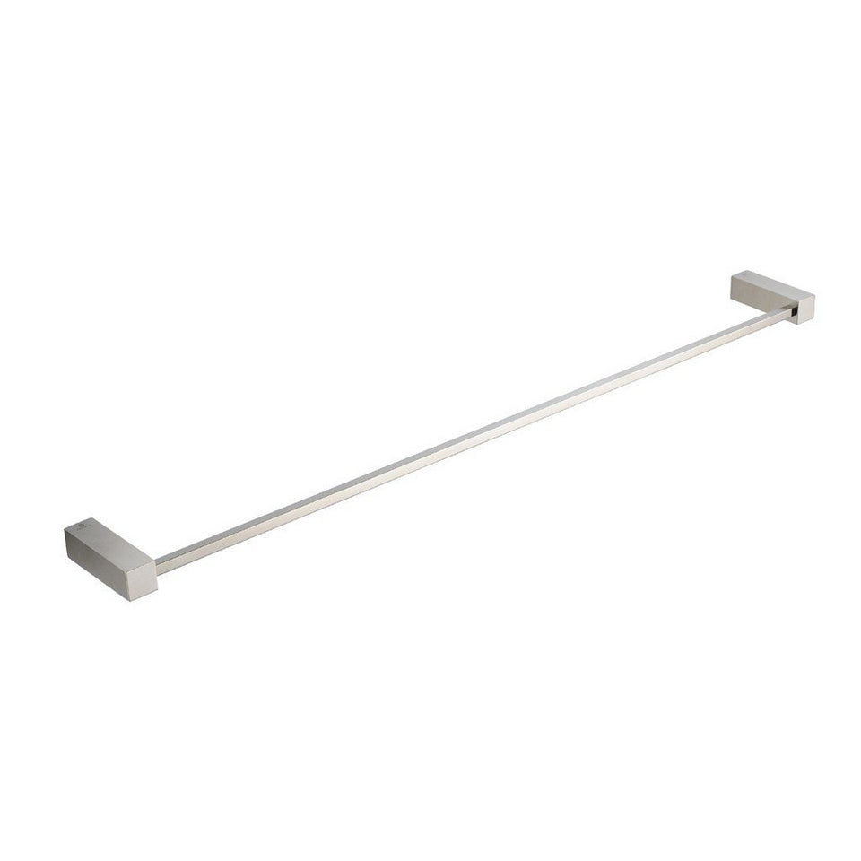 "Fresca Ottimo 24"" Towel Bar Fresca Towel Bars Brushed Nickel"