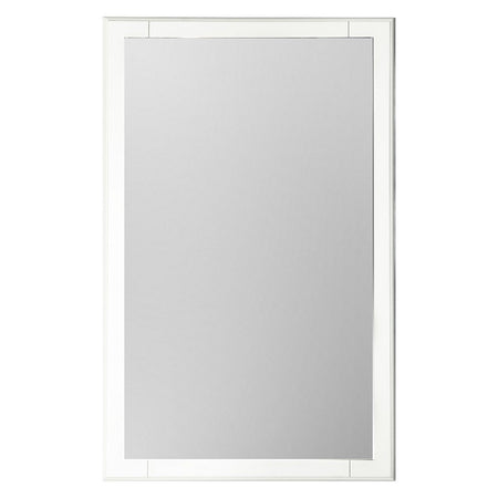 "Fresca Oxford 20"" Mirror Fresca Mirrors Antique White"