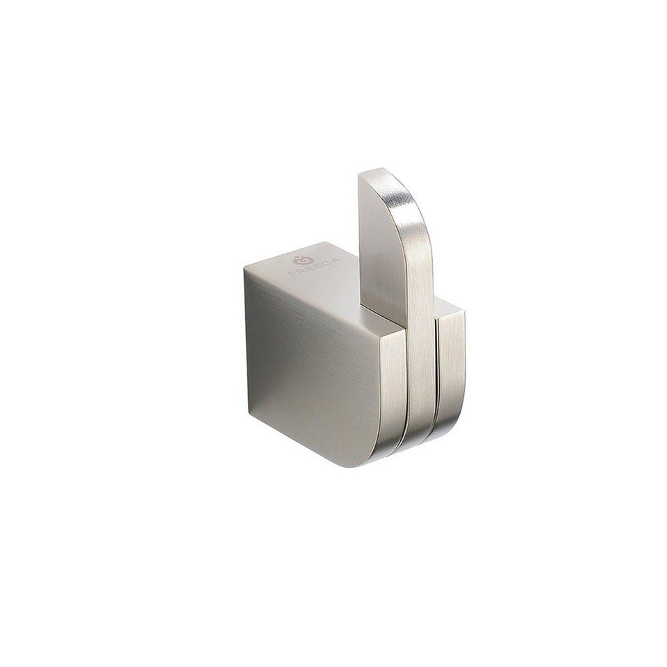 Fresca Solido Robe Hook Fresca Robe Hooks Brushed Nickel
