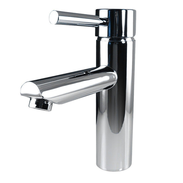 Fresca Tartaro Single Hole Mount Bathroom Vanity Faucet Fresca Faucets Chrome