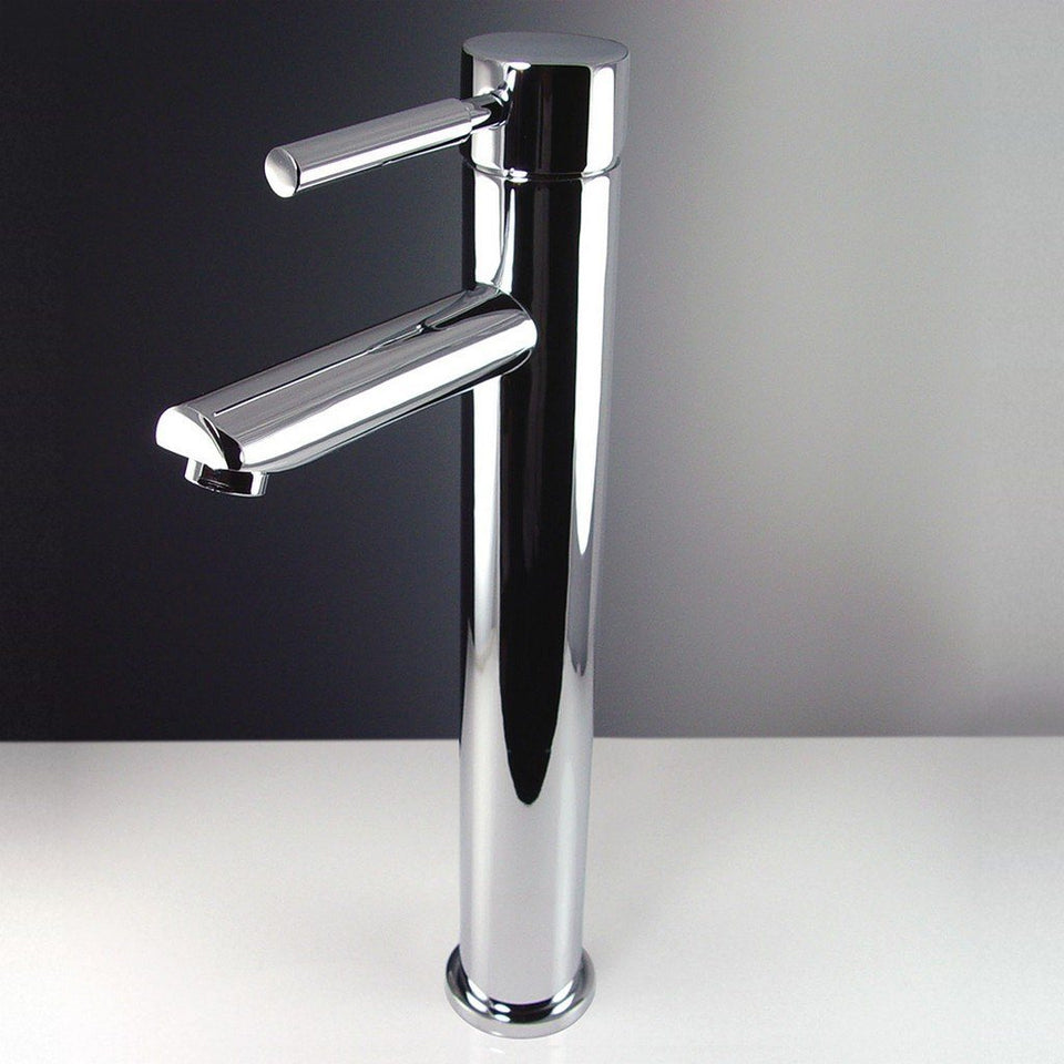 Fresca Tolerus Single Hole Vessel Mount Bathroom Vanity Faucet Fresca Faucets