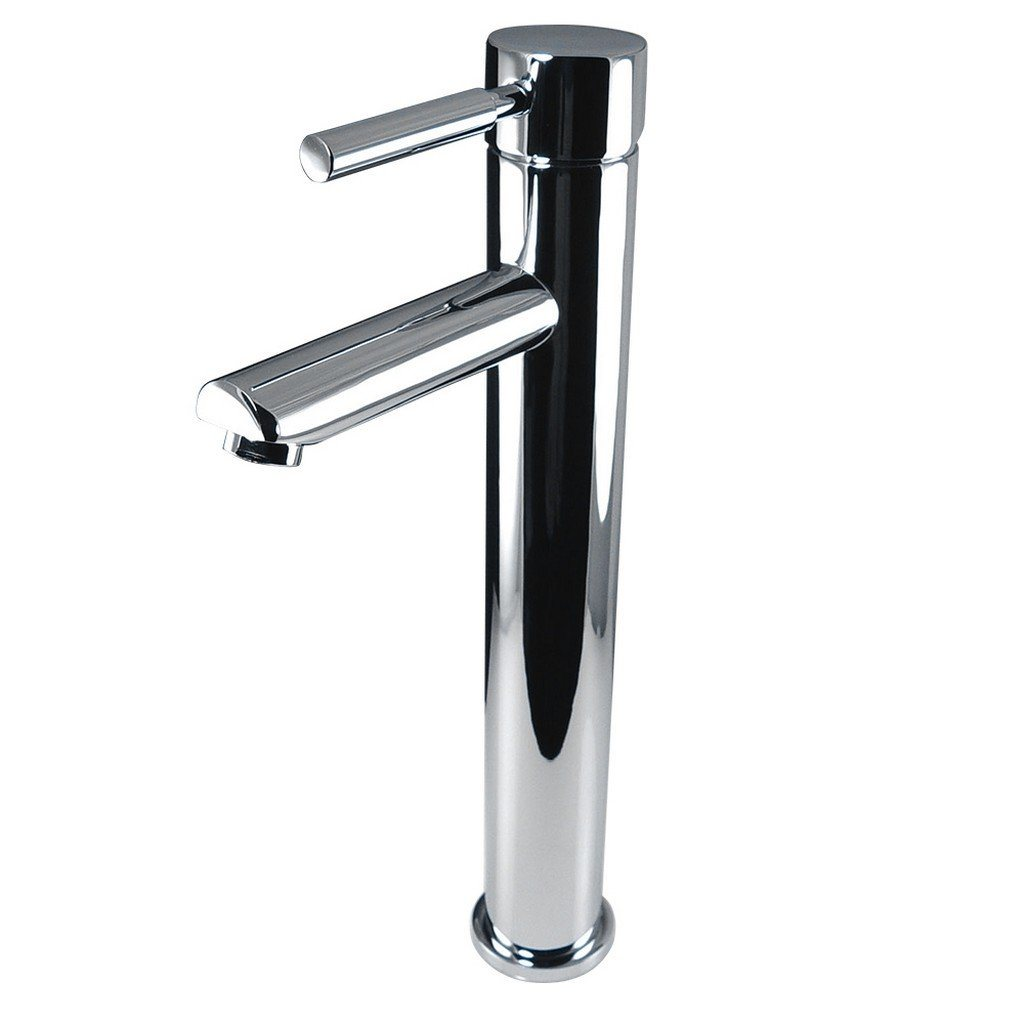Fresca Tolerus Single Hole Vessel Mount Bathroom Vanity Faucet Fresca Faucets Chrome