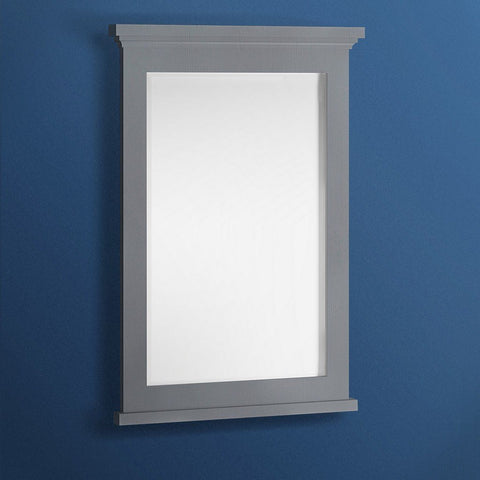 "Fresca Windsor 24"" Bathroom Mirror Fresca Mirrors Gray"