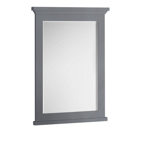 "Fresca Windsor 27"" Bathroom Mirror Fresca Mirrors Gray"