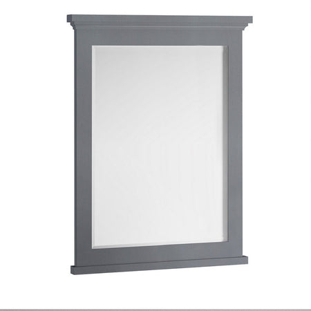 "Fresca Windsor 30"" Bathroom Mirror Fresca Mirrors Gray"