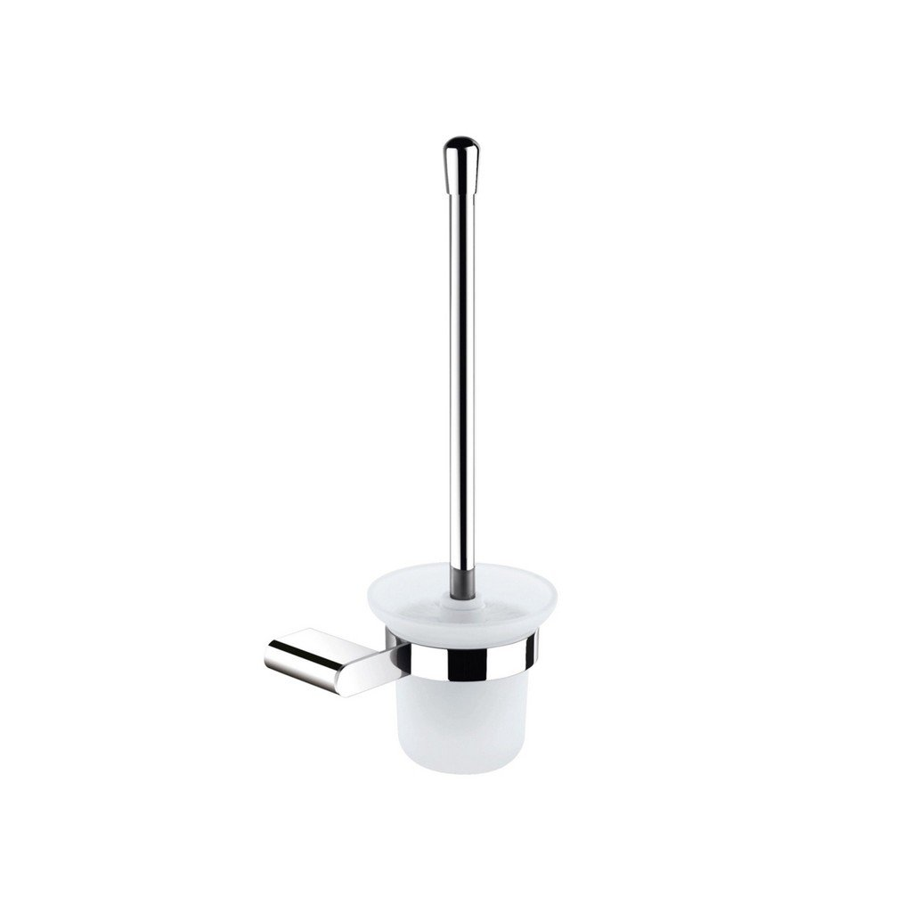 KubeBath Aqua Chiaro by KubeBath Wall Mounteded Toilet Brush KubeBath Toilet Brushes Chrome