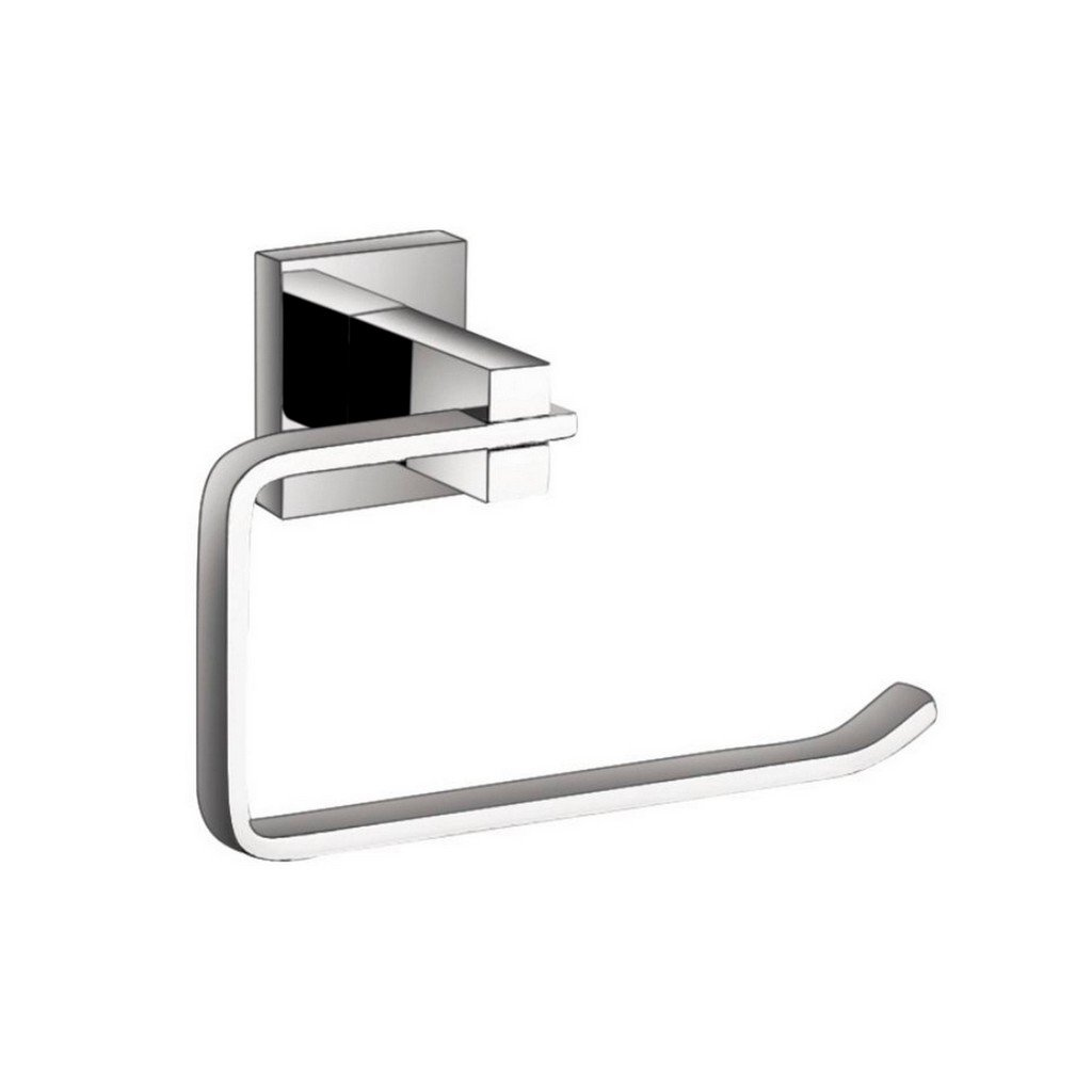 KubeBath Aqua Korsa Towel Ring KubeBath Towel Rings Chrome