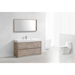 "KubeBath Bliss 60"" Freestanding Modern Single Bathroom Vanity KubeBath Vanities"