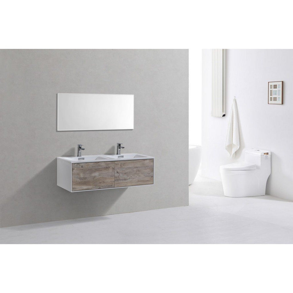 "KubeBath Divario 48"" Wall Mounted Modern Bathroom Vanity KubeBath Vanities"