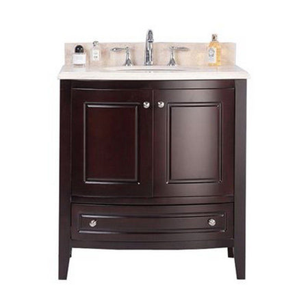 "Laviva Estella 32"" Cabinet with Jerusalem Gold Counter Laviva Vanities Brown"
